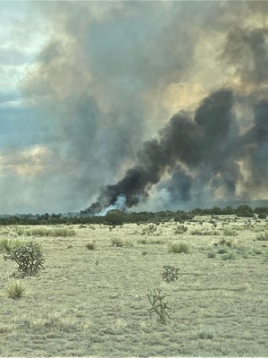 This fire in southeast Pueblo County was one of two successfully contained last weekend through a coordinated effort.