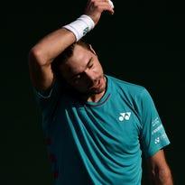 Stan Wawrinka's Dubai title defense ends in round 1