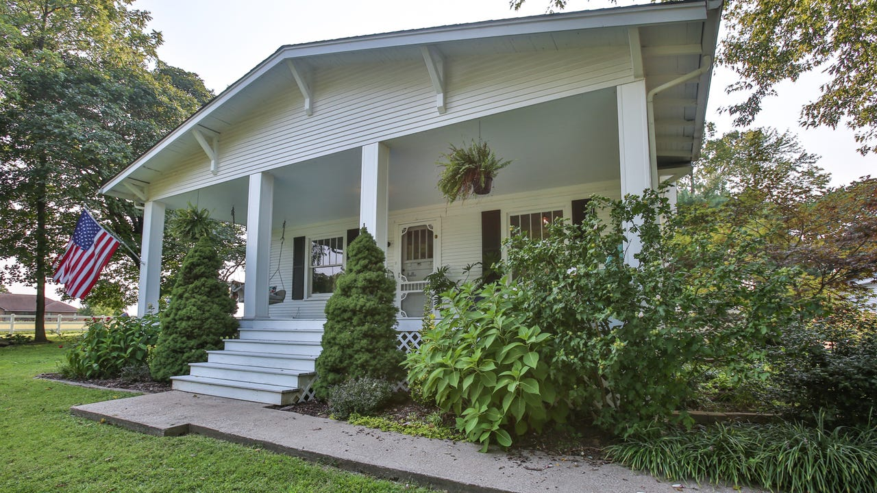 Our newest Home of the Week is the farmhouse of Jessica and Cabot Brothers, who drove by it every day for eight years.
