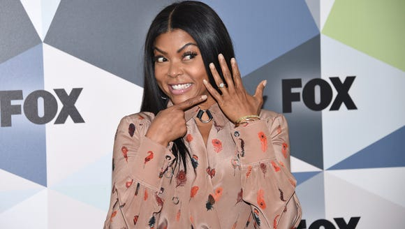 Taraji P. Henson shows off her engagement ring at Fox's