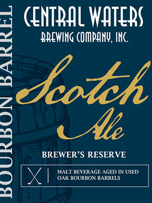 Central Waters Scotch Ale label