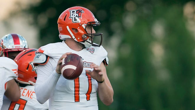 Bowling Green quarterback Matt Johnson.