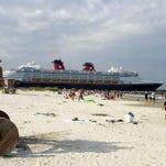 Disney's Wonder, seen sailing past Port Canaveral's Jetty Park in 2009, primarily will operate out of the Canadian west coast on Alaskan cruises in the summer of 2015.
