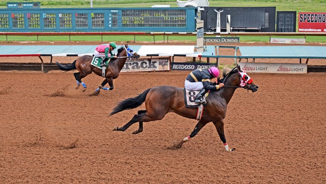 Uptown Dynasty will compete at the All American Futurity Monday.
