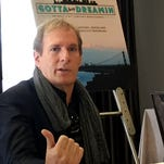 """Michael Bolton discusses his forthcoming documentary, """"Gotta Keep Dreamin,"""" during a media event Thursday, Oct. 1, 2015 in Detroit."""