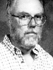 """William """"Dave"""" Sanders, the only adult among the 13 victims of the shooting rampage at Columbine High School in Littleton, Colo., in 1999, is seen in this undated yearbook photo. Sanders, 47, was a computer teacher and coach of the girl's basketball team."""