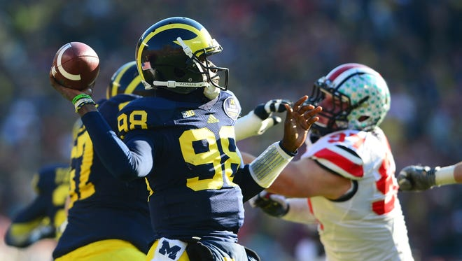 Devin Gardner nearly engineered a whopper of an upset over Ohio State in 2013.