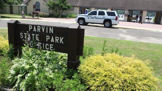 Parvin State Park, carousel