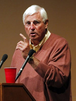 Former Indiana coach Bob Knight shared his thoughts on college basketball on Wednesday night.