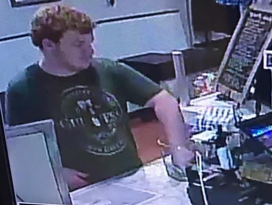 Alleged tip-jar thief