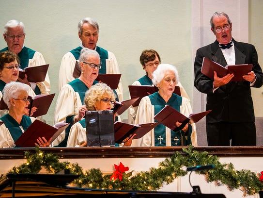 The Carol Sing Choir performed. The 26th Annual Christmas