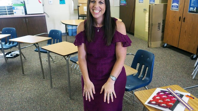 "Sierra High School teacher Rachel Hernandez, 42, has been named the 2020 San Joaquin County Teacher of the Year by the San Joaquin County Office of Education. Hernandez, who works in the county's Deaf and Hard of Hearing Program, was thrilled. ""It means everything,"" Hernandez said. ""I am definitely doing it for the kids. That's why I go to work every day. That's what motivates me to do my job. It feels so gratifying for someone outside to notice the hard work you put in."""