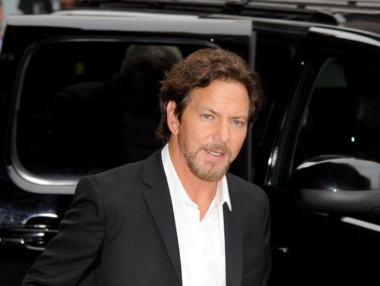 Eddie Vedder of Pearl Jam on 'Late Show With David