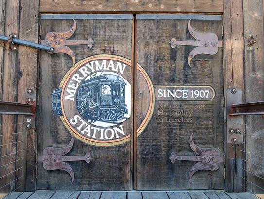 The restoration of the original Merryman Station as