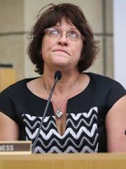 Cheryl Farrington, mother of Andrea Farrington