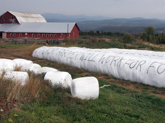 AP FARM PROTEST A FEA USA VT