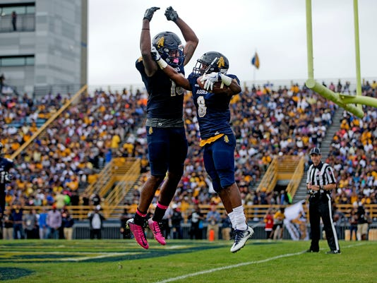 N.C. A&T 44, Delaware State 3