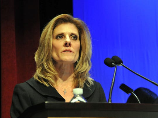 Kristin Corrado, the Passaic County Clerk from Totowa
