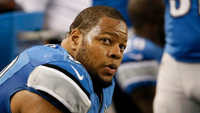 Lions defensive tackle Ndamukong Suh
