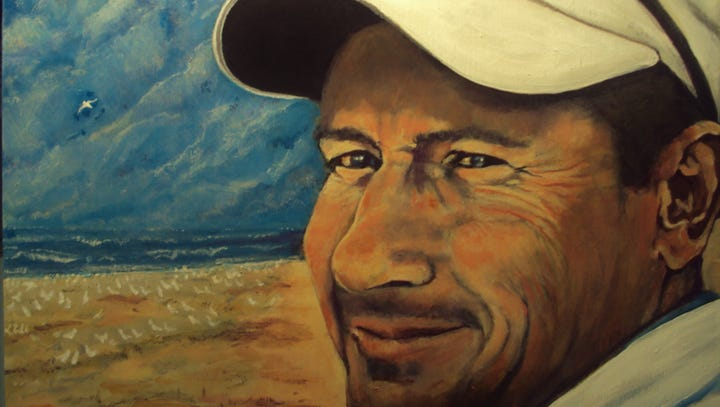 Pa. artist highlights life of Shippensburg man killed in Las Vegas shooting with portrait