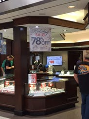 Kevin Jeweler's at the Westfield mall in Santa Clara,