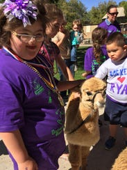More than 1,000 people walked at the 2015 Buddy Walk