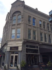 1 Biltmore Avenue, dating to 1887, is the oldest commercial