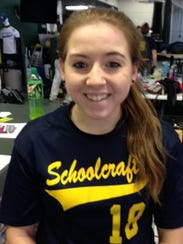 Molly Markiewicz did not play softball at Farmington