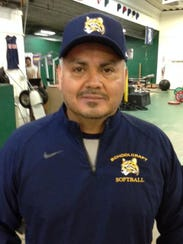 Schoolcraft softball coach Rey Linares is excited about
