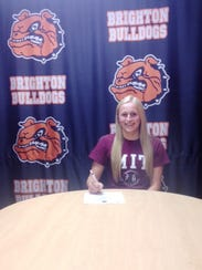 Brighton's Veronica Ripper will continue her volleyball