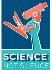 March for Science produced posters for supporters of