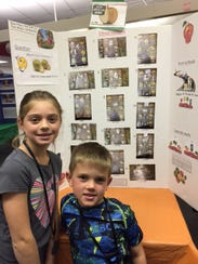 Siblings Tessa and Jack Nolan worked together to find