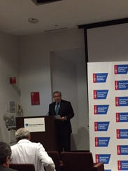 Robert P. Wise, president and CEO of Hunterdon Healthcare,