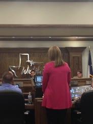 Karen Gagne, Wichita Falls Planning Administrator,