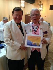 Sid Scruggs, past president of Lions Club International,