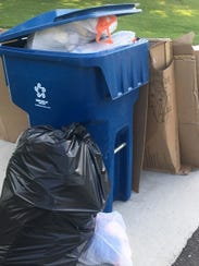 Trash is piling up in toney Oakland Township where