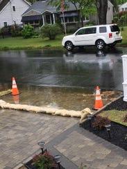 Dan and Gerry O'Dowd said the borough worsened a flooding