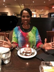 Rosalind Tompkins celebrated her birthday with family