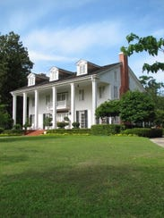 This home owned by Frances Irving is among the four