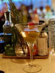 Among the many cocktails offered at Elia