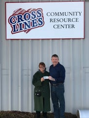 Becky Ludwig, Groove President, Rogersville/MO and
