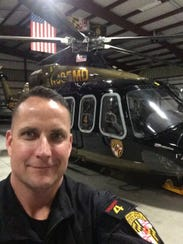 Jude Gallagher from Maryland State Police Aviation