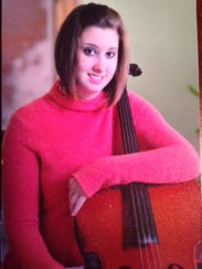 """Diana (Heilner) Ziegler is seen here in a high school portrait. Diana played cello and sang. """"She had music in her,"""" said her father, Jerry Heilner."""