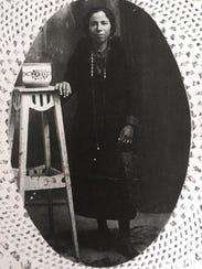 A photo of Georgine Ciullo Gregory's grandmother.