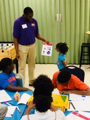 Children at the Star Complex in Fort Myers design their