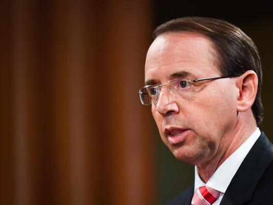 USP NEWS: DEPUTY ATTORNEY GENERAL PRESS CONFERENCE A USA DC