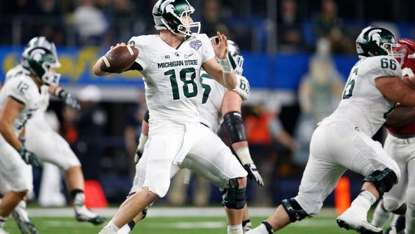 Michigan State's Connor Cook has talent, but his leadership