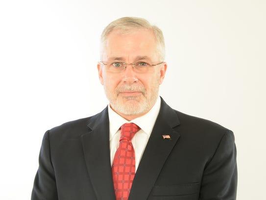 Brighton Township Trustee Patrick Michel is a Republican