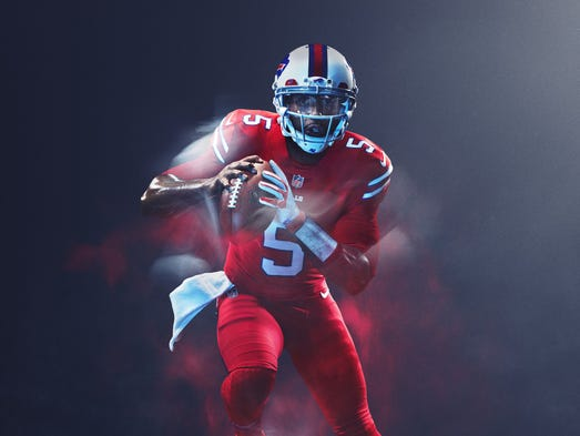 Nfl Takes Color Rush Uniforms To Next Level