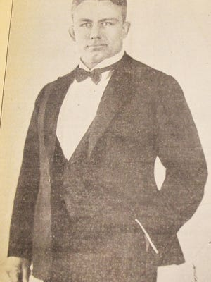 Everette Marshall as pictured in 1936.